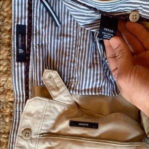 Cremieux classics Madison khaki slacks